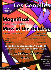 Mass of the children – Rutter (2014)