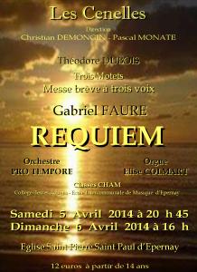 Requiem  de Gabriel Fauré (2014)